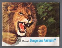 TRADE/ cigarette cards Dangerous Animals set of 48 Polo Bear,Tiger,Snakes ,